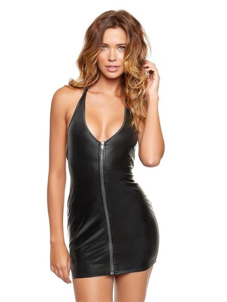 ann summers wet look dress